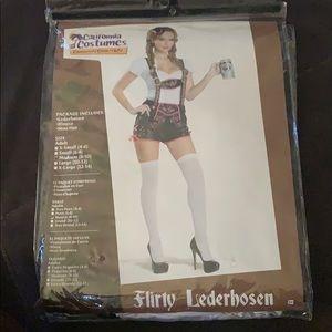 California Costume Flirty Lederhosen Costume - M